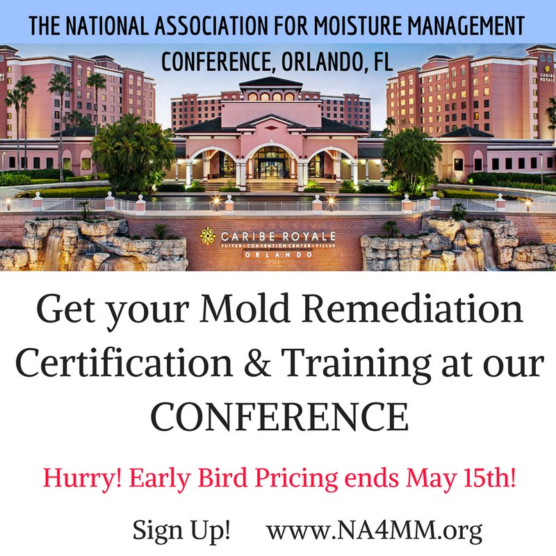 Rick Lapierre On Twitter Get Your Mold Remediation Certification