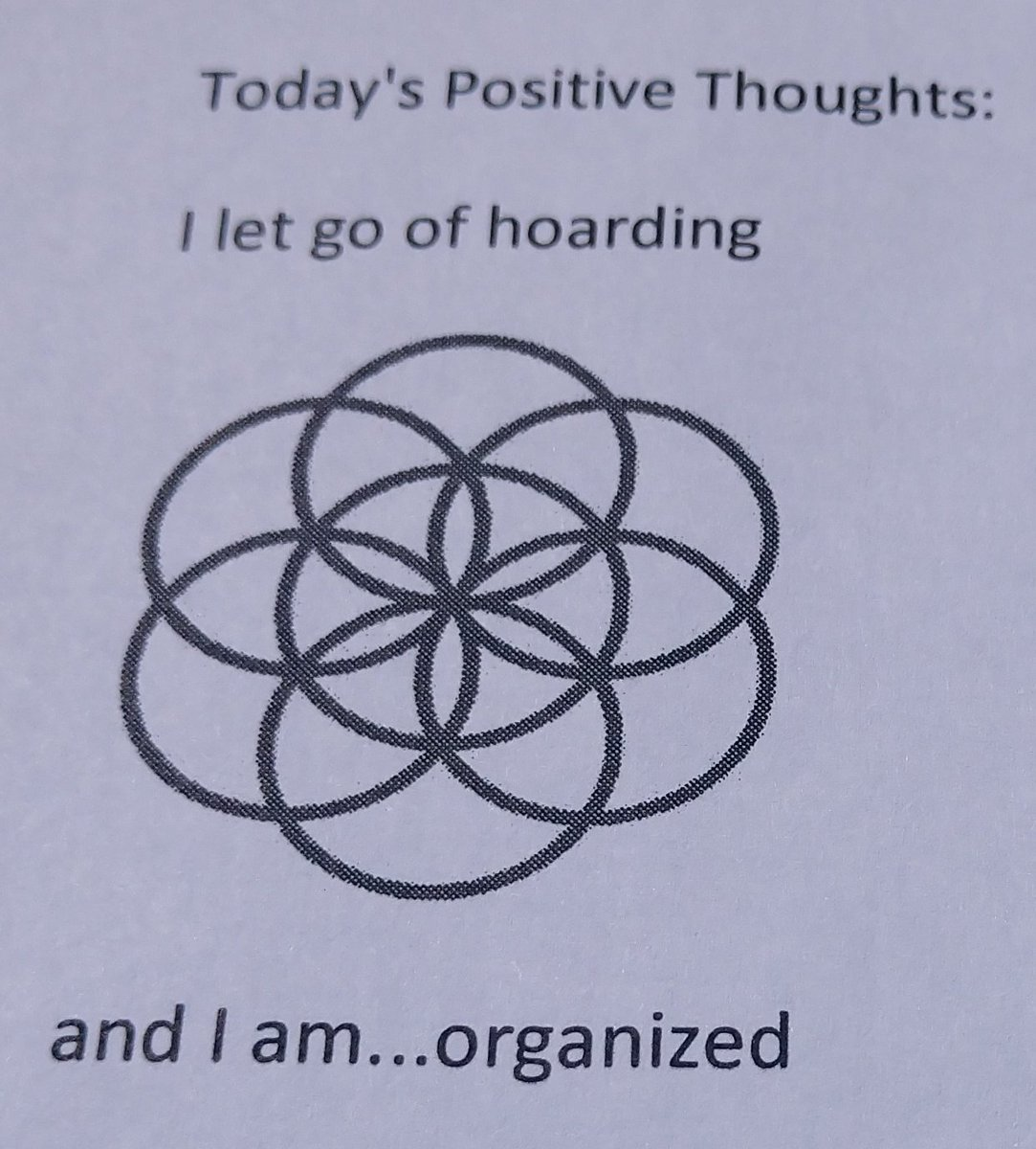 test Twitter Media - Today's Positive Thoughts: I let go of hoarding and I am...organized. See my #inspirational card sets. #affirmation https://t.co/bEDiUcU1fk