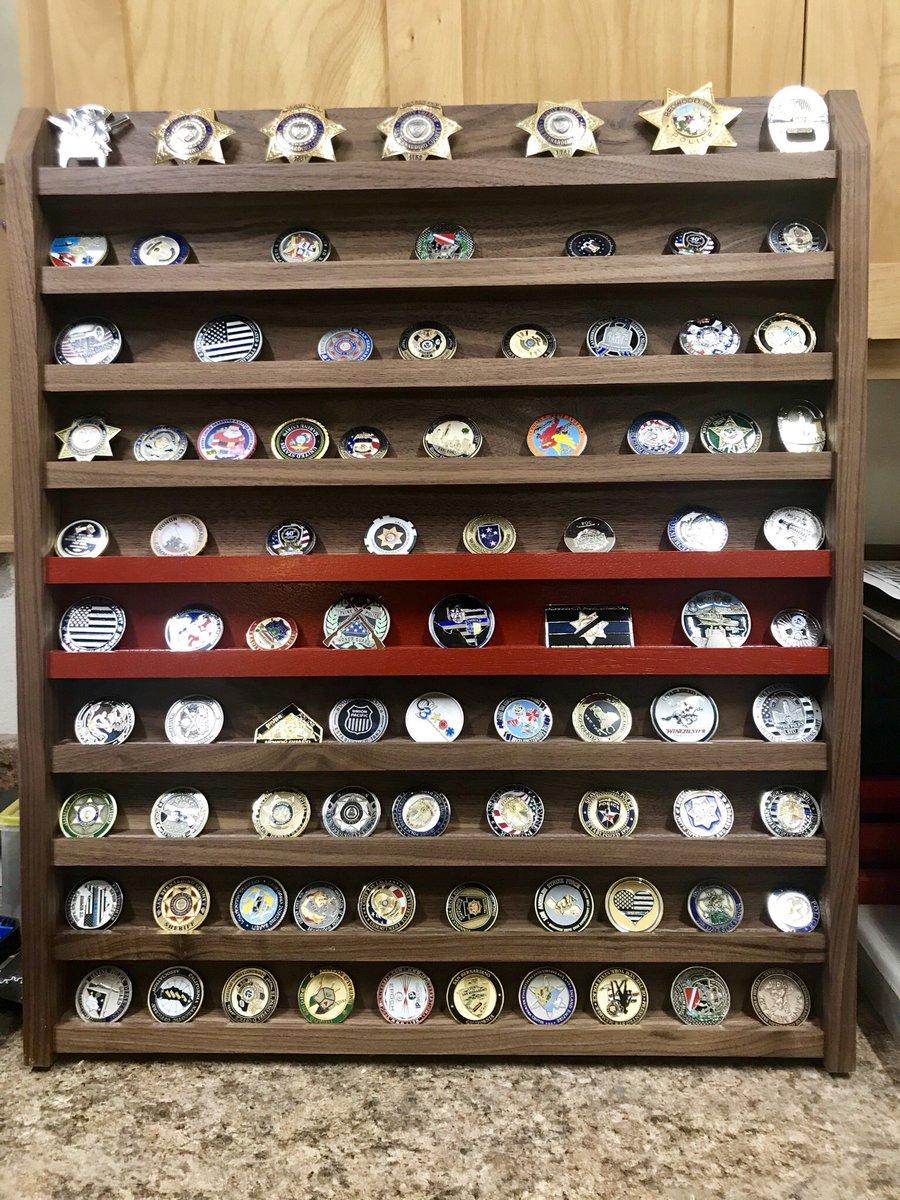 Doug Wolfe Custom Challenge Coin Displays (@WolfeCoin) | Twitter