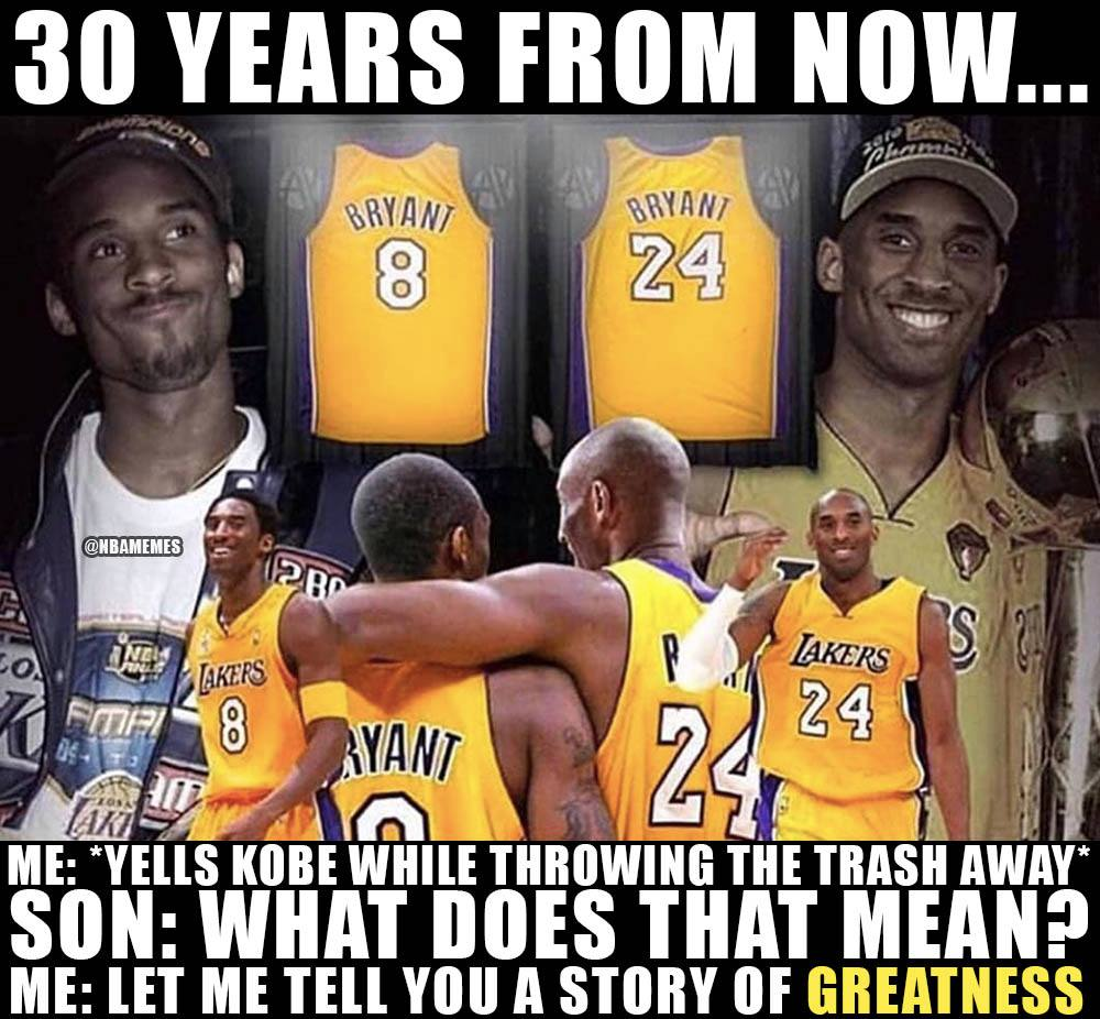 Nba Memes On Twitter Kobe The Real