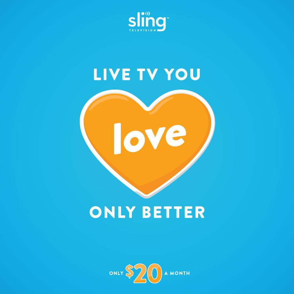 Sling TV on Twitter: