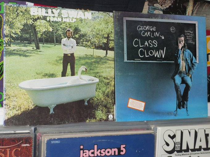 Happy Birthday to Billy Swan & the late George Carlin