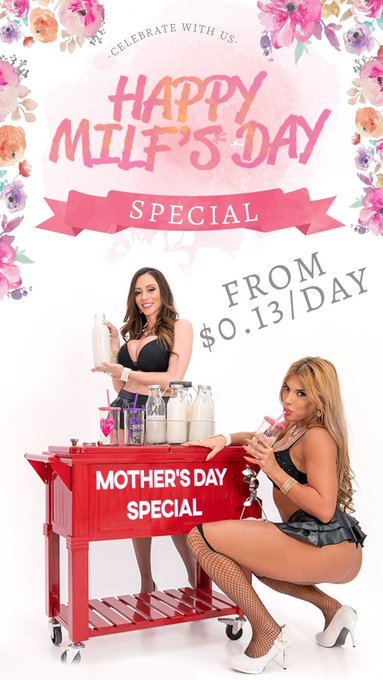 Celebrate #MothersDay with @vrbangers! #HappyMILFsDay #VRPorn @ariellaferrera #MILFyWay #HappyMothersDay