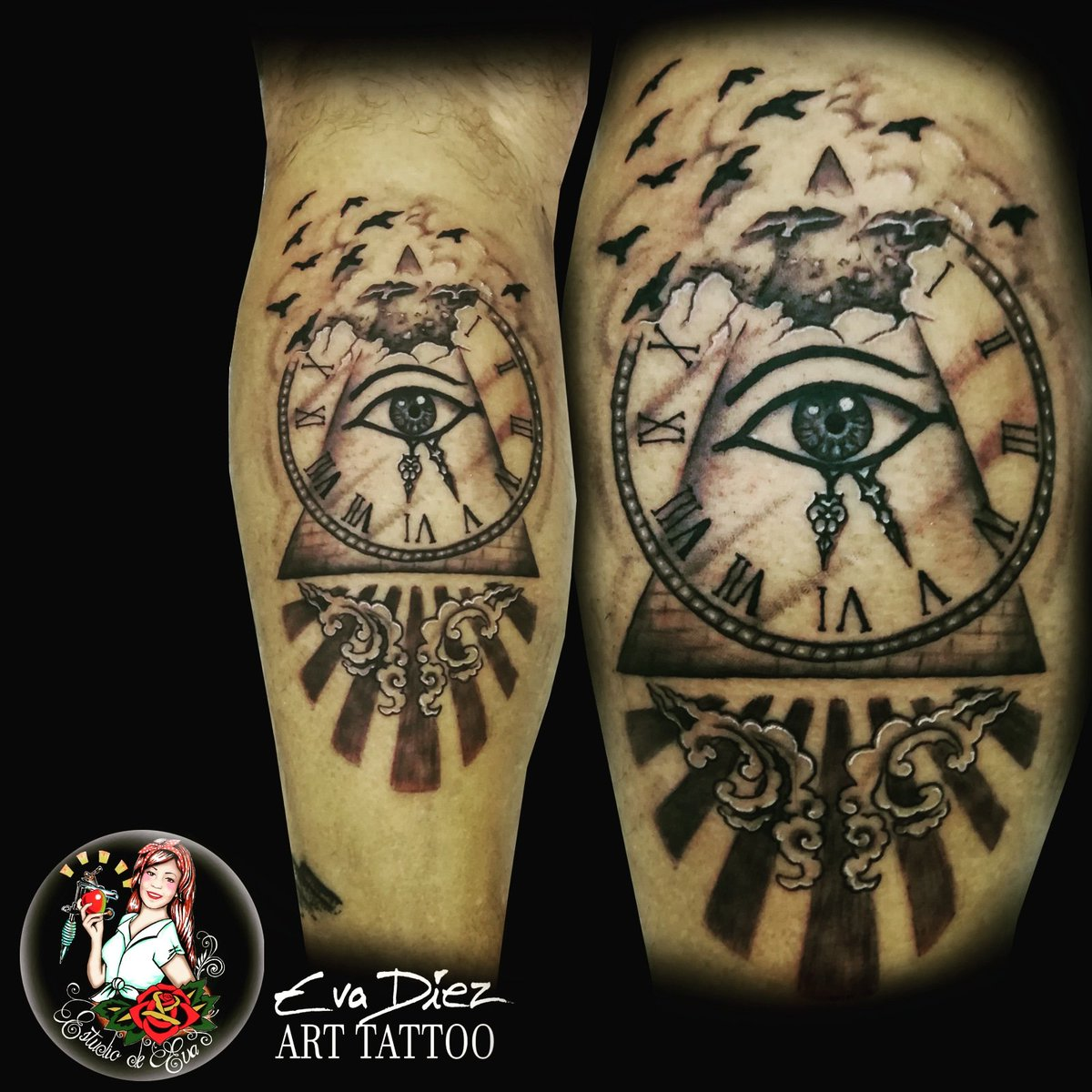 Eva Díez Tattoo On Twitter Ojo De Horus Tattoo Ink Tattoostudio