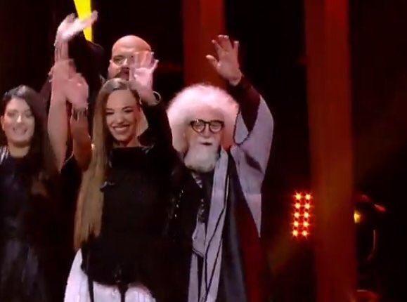 enorme valle inclan en #eurovision