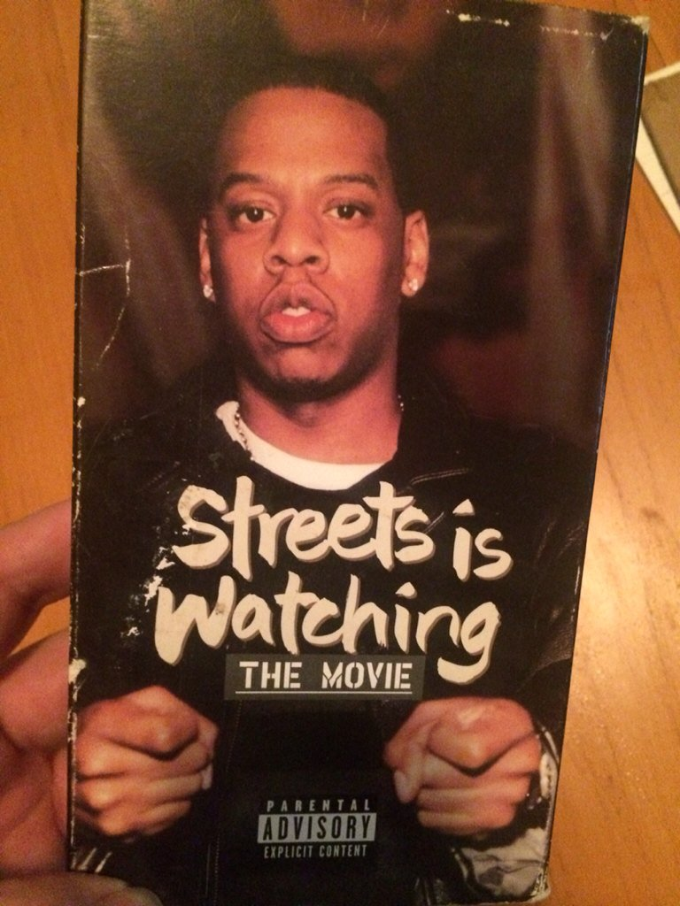 my original Streets Is Watching VHS. It's a miracle I still have this https://t.co/dmNLLEnNZQ