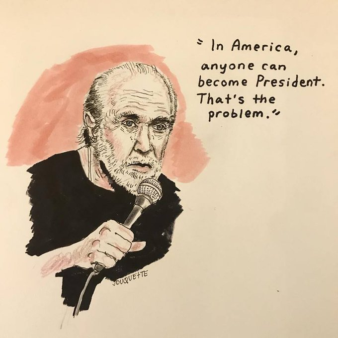 Happy Birthday, George Carlin  (May 12, 1937 June 22, 2008) - we sure do miss you