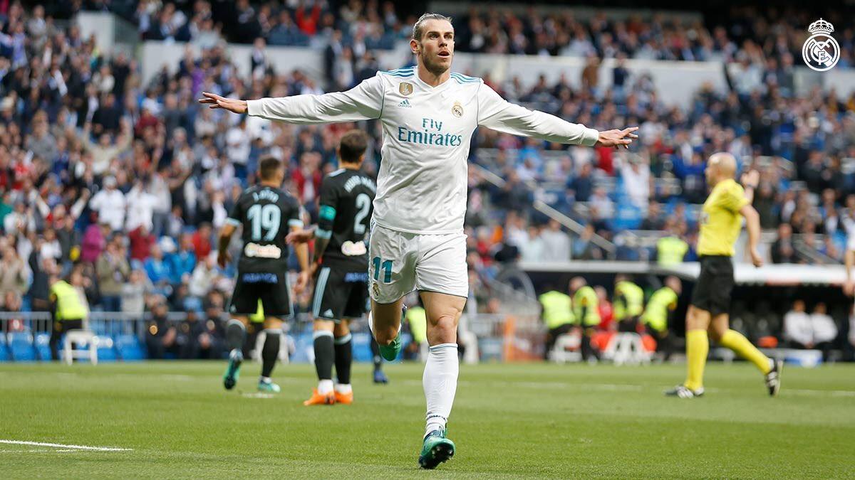 هدف أول لريال مدريد في مرمى سيلتا فيغو