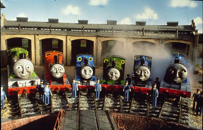 Happy 73rd Anniversary to the railway series and a very Happy Birthday to George Carlin