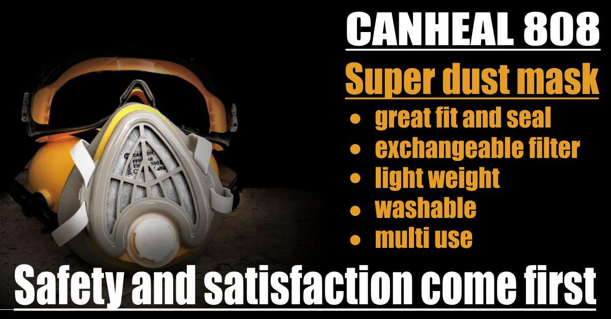 canheal 808 dust mask respirator