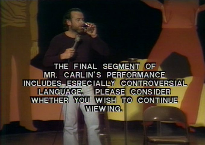 Happy Birthday to George Carlin, who would\ve been 81 today.