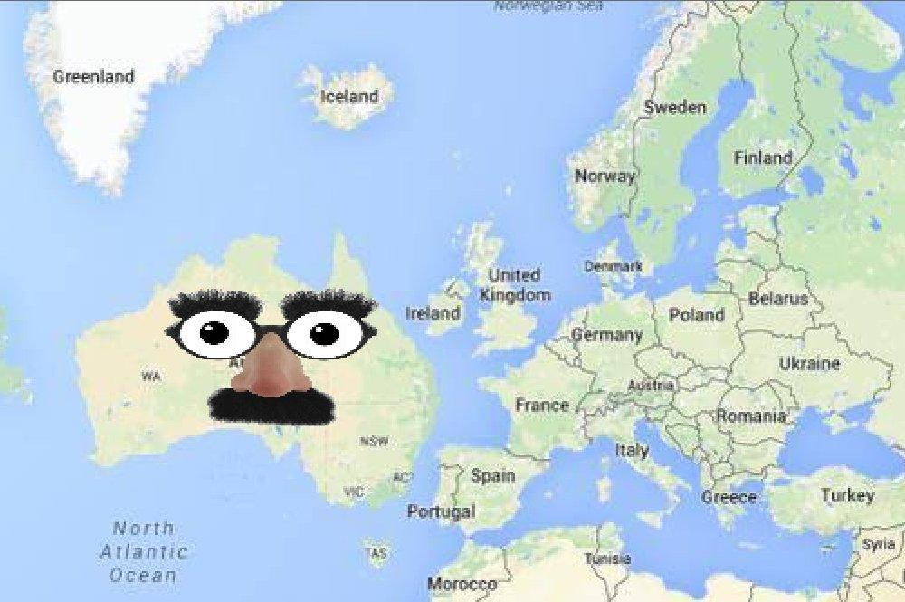 Map Of Australia Over Europe.My Country Europe On Twitter Australia Jessica Mauboy