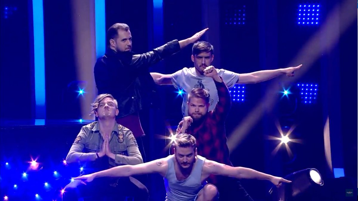 #Eurovision o Dragon Ball  #FinalEurovision