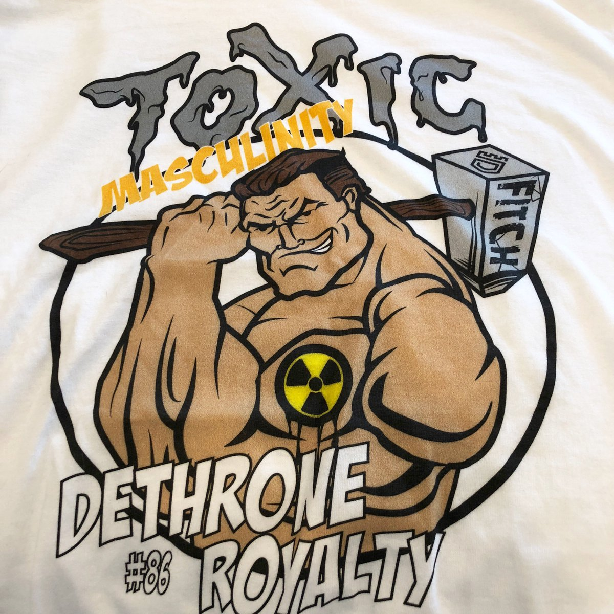 Let's go @Fitch_SMASH @BellatorMMA dethrone.com/products/toxic