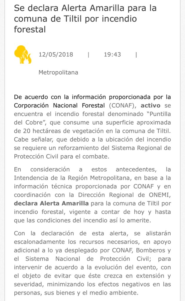 Intendencia RM on Twitter: \