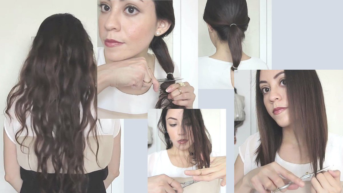 #LongBob #Haircut #Tutorial / #HowtoCut Your Own #Hair at Home with #Long #Bob #Style watch on #YouTube : https://youtu.be/malfjYd9IC8 pic.twitter.com/ ...