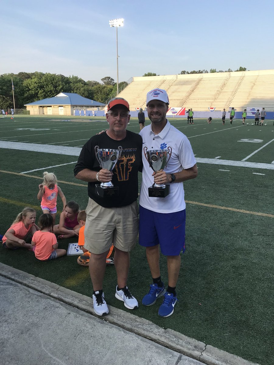 test Twitter Media - Two state championships on the same day is truly remarkable. Congratulations to Coach Hamby and the Girls Soccer team, and Coach Henson and the Boys Track & Field team. https://t.co/QU2pQFphL9