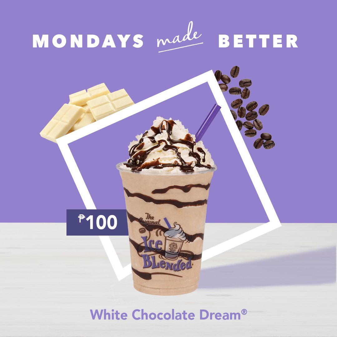 The Coffee Bean Tea Leaf Ph On Twitter It S A Dream Come True For Mondaysmadebetter On May 14 You Can Get The White Chocolate Dream As A Latte Over Ice Or