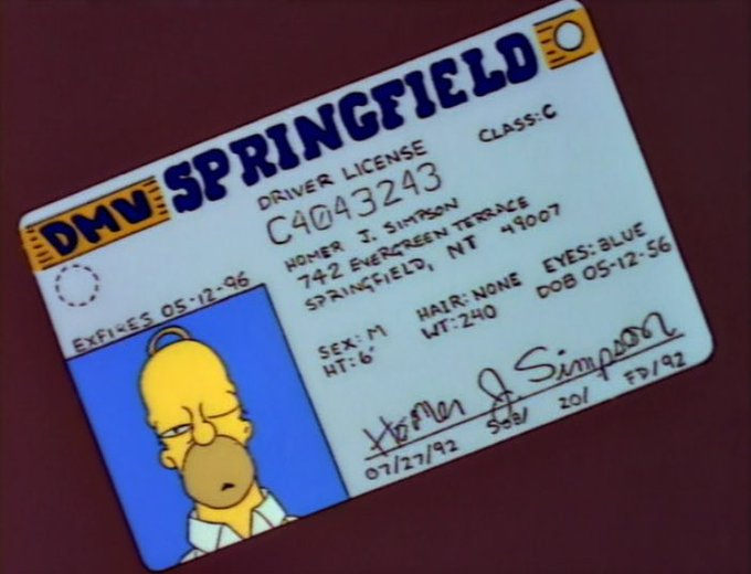 Happy Birthday to Homer Simpson who is an astonishing 62 years old today.