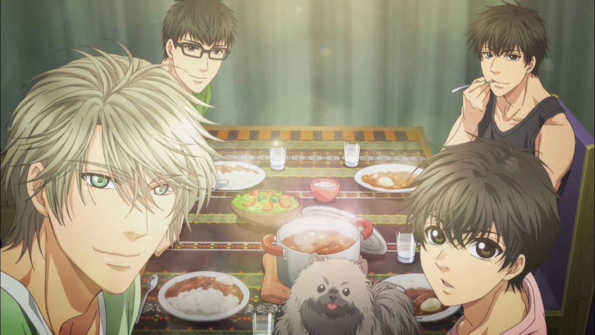 『SUPER LOVERS』海棠家