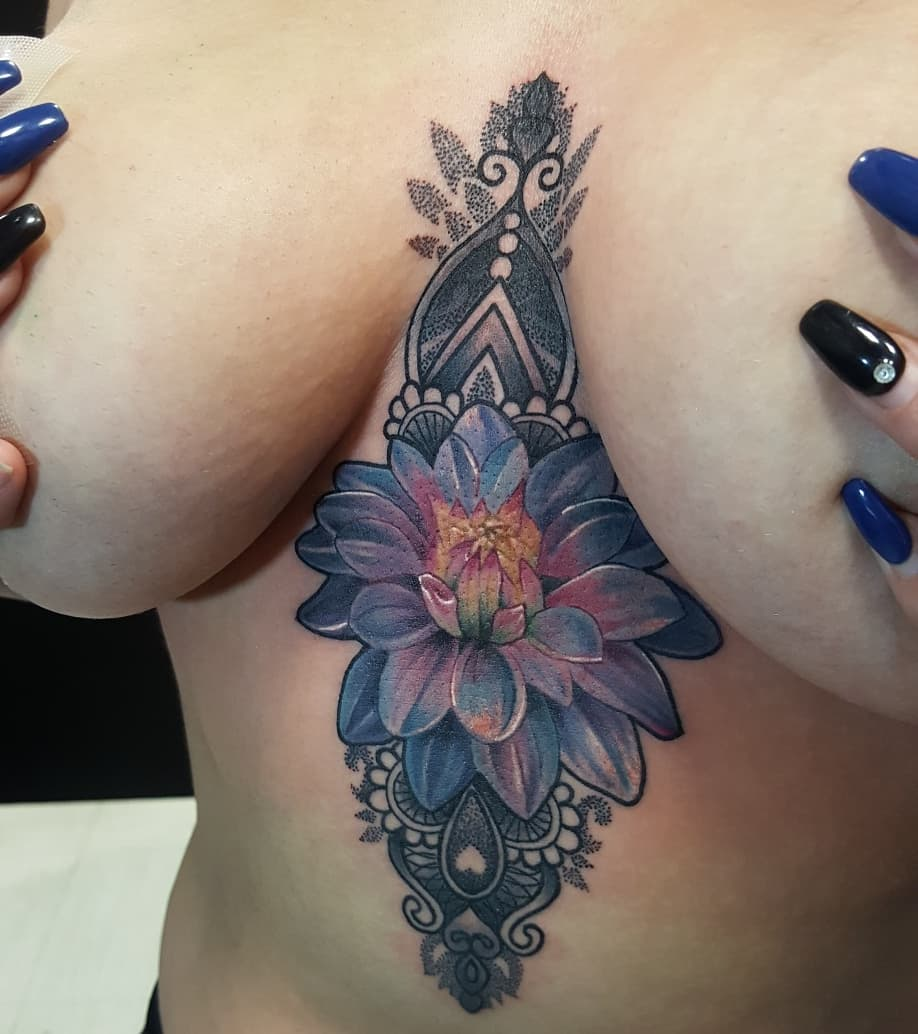 Jessie Campolo On Twitter A Pretty Sternum Tattoo From Yesterday