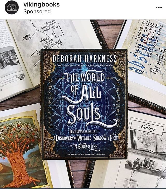 Apparently, you cannot repost a sponsored post, so we cheated (took a screenshot) because it was so pretty! 🤩 ✨ #theworldofallsouls #deborahharkness ift.tt/2KgYIfw