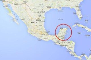 ユカタン 半島 地図
