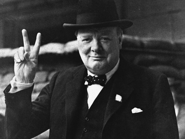winston churchill first speech as prime minister