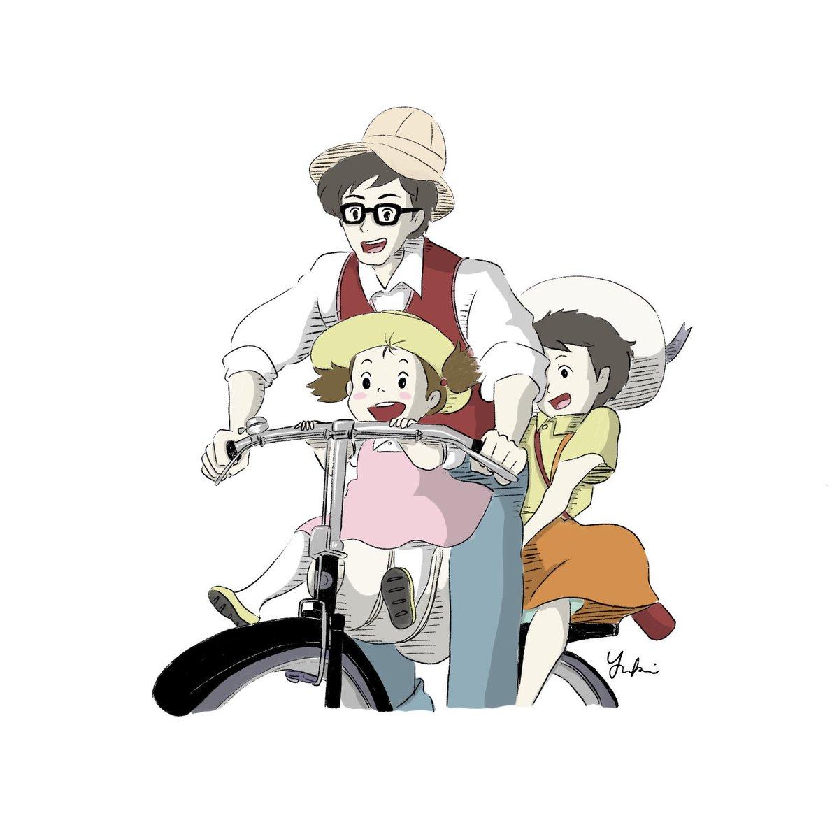 Yuki イラスト描いてる映画好きデザイナー בטוויטר トトロの草壁一家