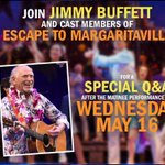 Image for the Tweet beginning: Escape to Margaritaville Q&A with