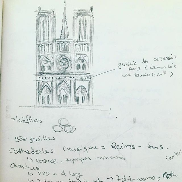 I found a little Notre Dame de Paris in one of my old sketchbook — #throwbackdrawing #sketchbook #artist #notredamedeparis #parisart #pa... https://t.co/EjcI4fEcNW