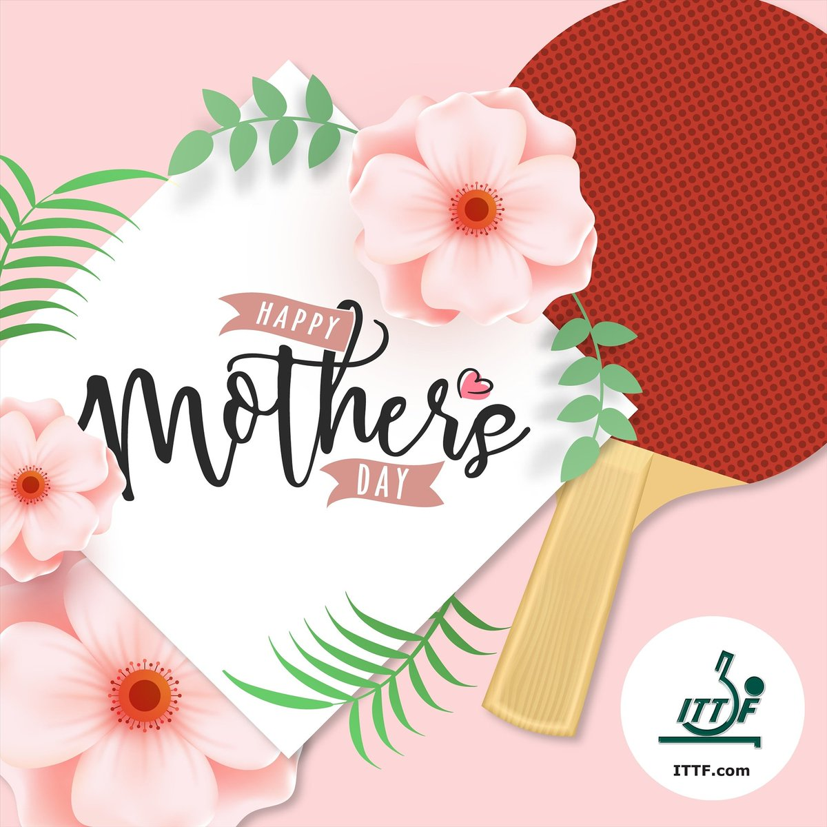 Happy Mother's Day to all #tabletennis mums!! 💕💕💕 #happymothersday