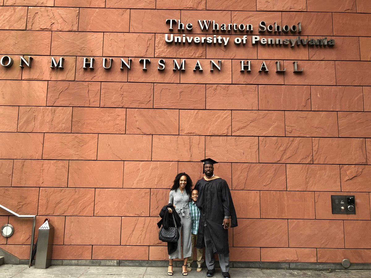 Incredibly proud of you @JustinTuck!! Welcome to the @Pennalumni family!! #whartongrad