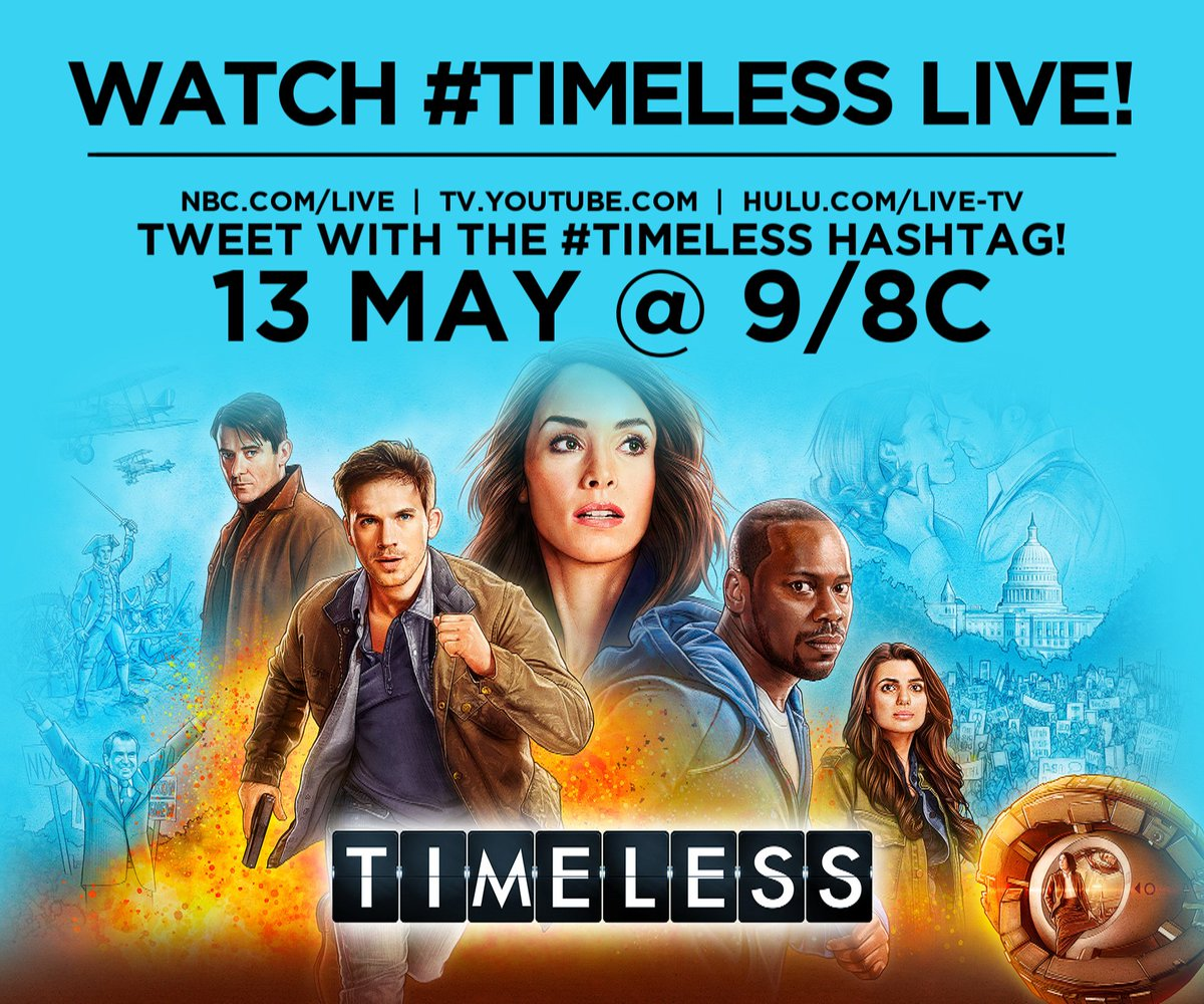 "#Timeless On Twitter: ""TURN YOUR TV'S ON TO FOX"