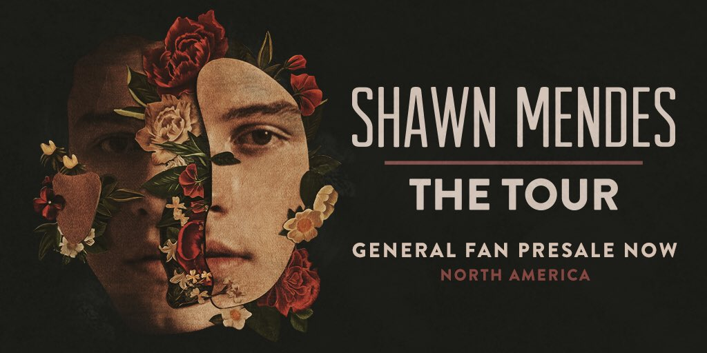 All North America General Fan presales for #ShawnMendesTheTour are happening now x https://t.co/qAZaGltX45