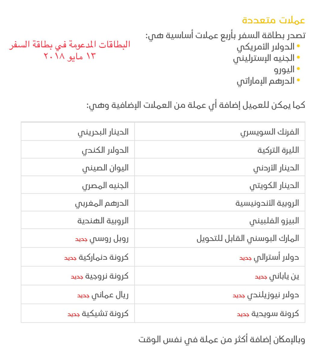 مشعل الهويمل A Twitter الآن بطاقة السفر الإئتمانية من البنك السعودي للإستثمار تدعم ١٧ عملة رائع Saiblive
