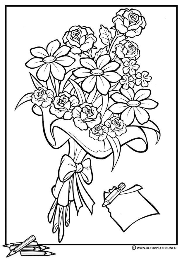 Vlinders En Bloemen Kleurplaat Volwassenen Kleurplaten Tekenaar Kleurplaten Twitter