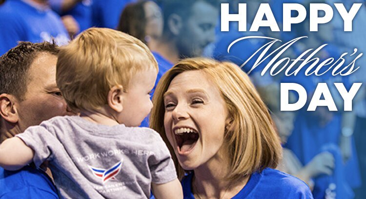 Happy to celebrate all our Thunder Moms today! 💕 #HappyMothersDay