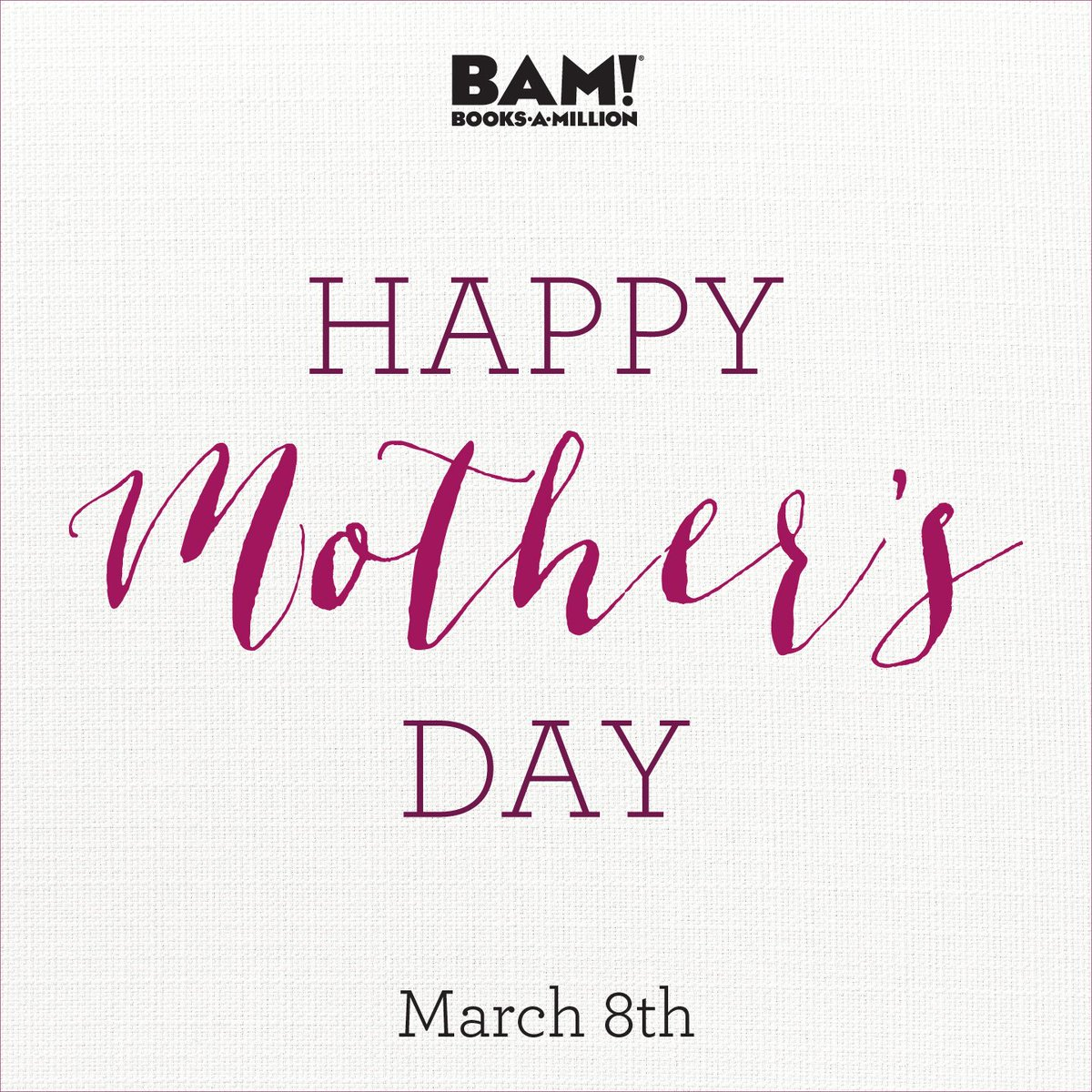Spend this #MothersDay the best way possible: reading! #BooksAMillion