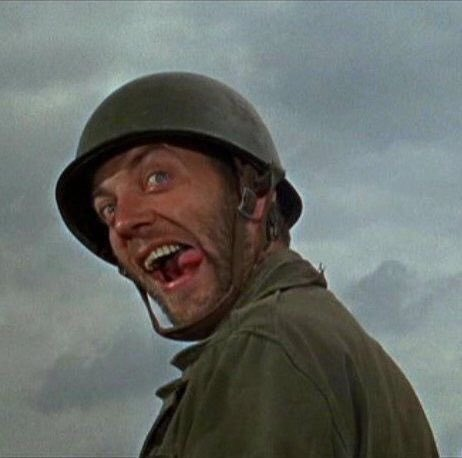 "Tom's Old Days on Twitter: ""Great Scene from ""The Dirty Dozen"" Donald  Sutherland Impersonates a General and inspects the Troops. ""Very pretty  Colonel,very pretty,but,can they fight? #Hollywood #movie #1960s #actor…  https://t.co/v8c944pWUP"""