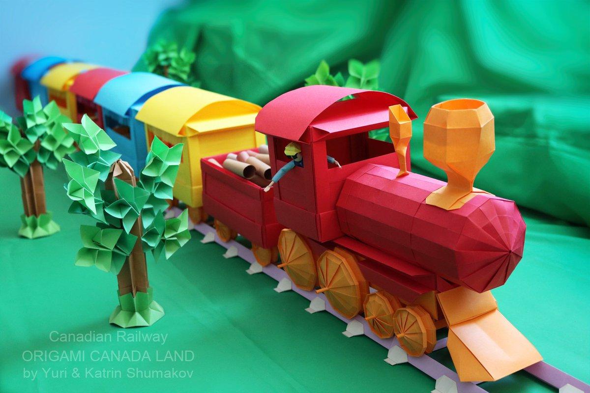 Origami train || how to make a paper origami train || paper train ... | 800x1200