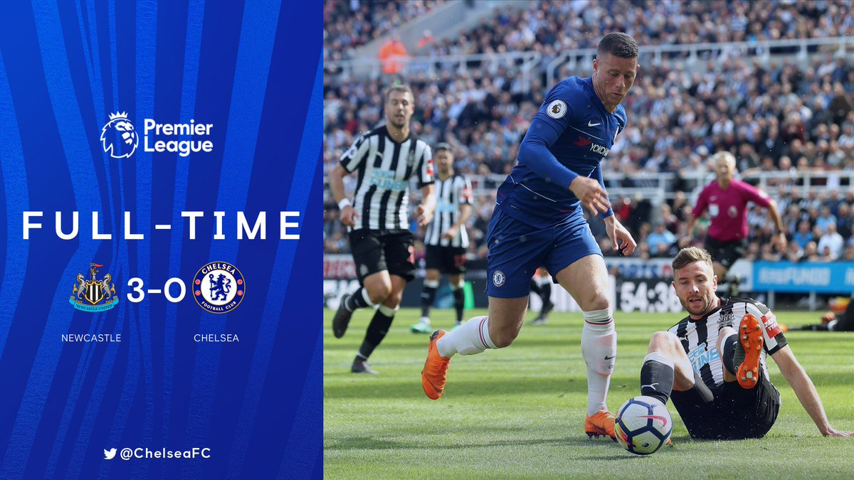 Chấm điểm kết quả Newcastle United 3-0 Chelsea