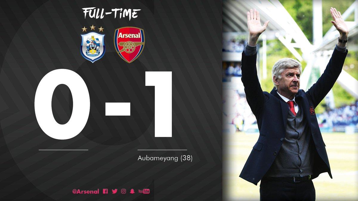 Chấm điểm kết quả Huddersfield Town 0-1 Arsenal