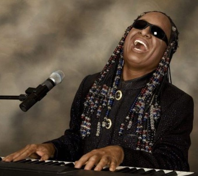 Happy 68th Birthday Stevie Wonder