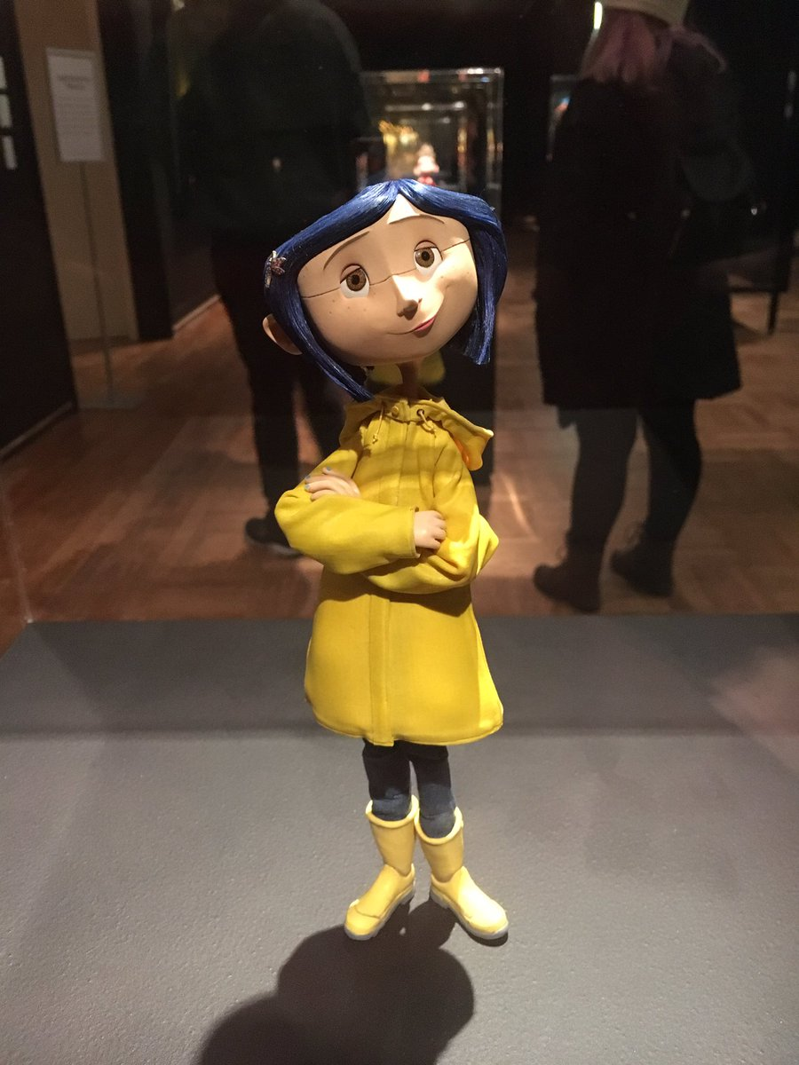 Aidan Walker On Twitter Monday On Thefilmcast We Ll Be Discussing The Animated Movie Coraline With Filmsunstuck And Bruellalex I Wanted To Share Some Pictures I Took Of The Puppets At The Laika