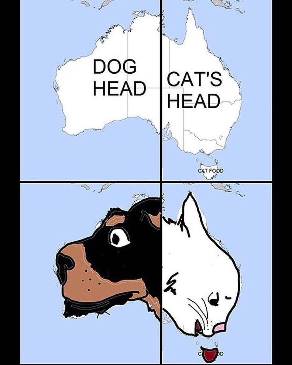 Australia Map Looks Like A Dog.Mapscaping On Twitter If You Divide Australia In Two You Ll Get A