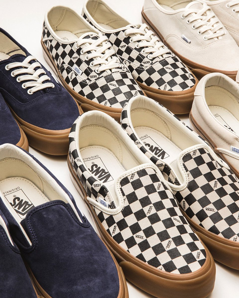 3fb50f649c ... are now available in-store and online. Classic silhouettes as well as  updated styles with premium material capture the energy of Vans.