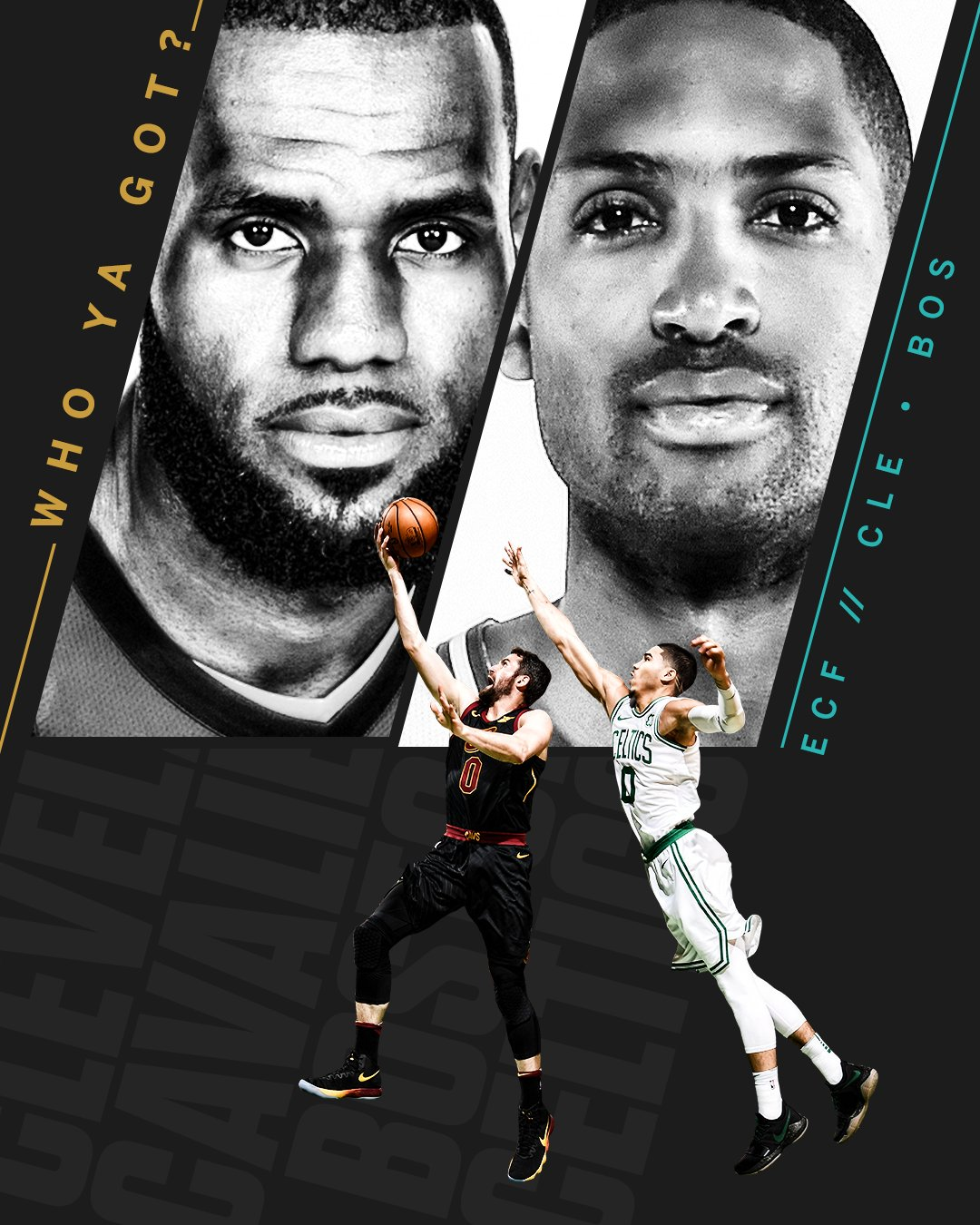 Let the games begin ��  Catch Game 1 of the Eastern Conference finals at 3:30 ET on ABC. https://t.co/zNVrfgtcE9