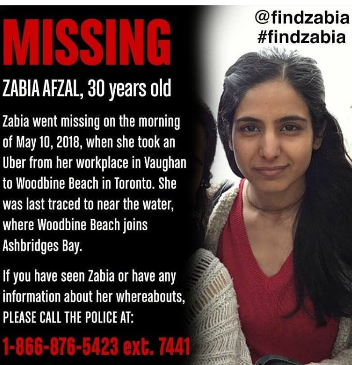 Please share widely to find Zabia who is a MPH graduate from @UofT_dlsph #FindZabia