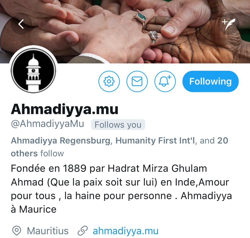 Paama Uk On Twitter At Ahmadiyyamu Is The Official Twitter